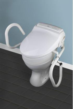 barre d 39 appui et main courante pour wc. Black Bedroom Furniture Sets. Home Design Ideas